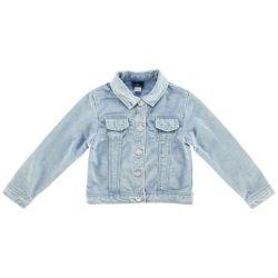 Jacheta copii denim Chicco, albastru deschis, 87290