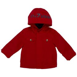 Jacheta impermeabila copii Chicco, baieti, rosu, 87279
