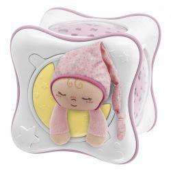 Jucarie Chicco Cub Curcubeu Primele Vise, Pink, 0luni+