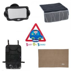 Kit accesorii Chicco pentru calatorii cu masina