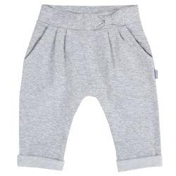 Pantalon copii Chicco, gri deschis, 98