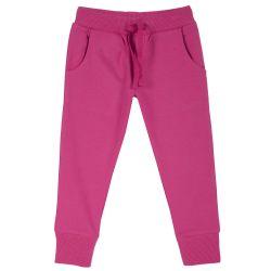 Pantalon trening copii Chicco, manseta elastica, corai, 104