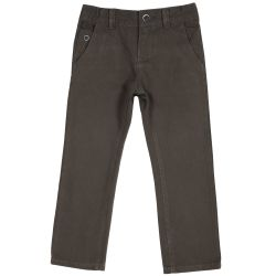 Pantalon copii Chicco, maro, 122