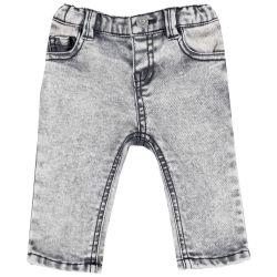 Pantalon copii Chicco, gri deschis, 92