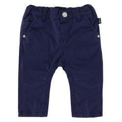 Pantalon lung copii Chicco, baieti, bleumarin, 24747