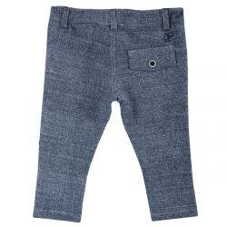 Pantalon lung copii Chicco, bleumarin cu model, 92