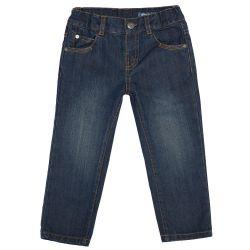 Pantalon pentru copii Chicco, denim, 92