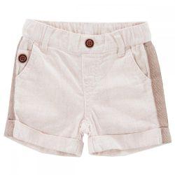 Pantalon scurti copii Chicco, baieti, crem, 44892