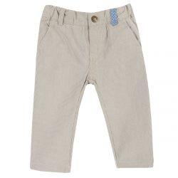 Pantalon lung copii Chicco, maro, 104