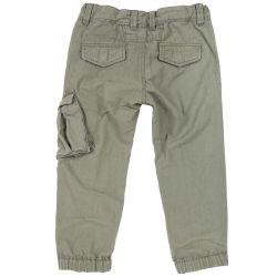 Pantalon lung copii Chicco, verde deschis, 122