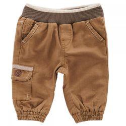 Pantaloni lungi pentru copii, Chicco, maro, 24764