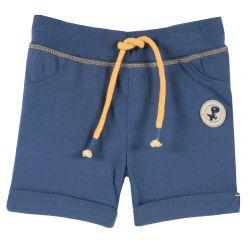 Pantalon scurt copii Chicco, jerse, albastru, 86