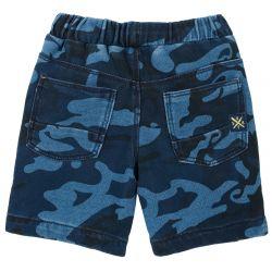 Pantalon scurt copii, Chicco, bleumarin cu model, 98