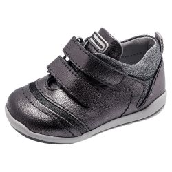 Pantof sport copii Chicco, argintiu cu bronz, 18