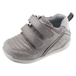 Pantof sport copii Chicco G5, Talpa Imparo, bej-argintiu, 59437