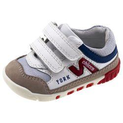 Pantof sport copii Chicco, alb, 18