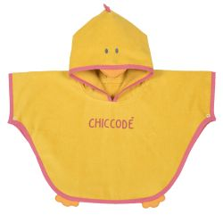 Pelerina plaja bebe Chicco, galben cu imprimeu, 14