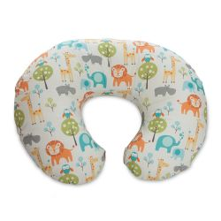 Perna alaptare Chicco Boppy 4 in 1, Peaceful Jungle