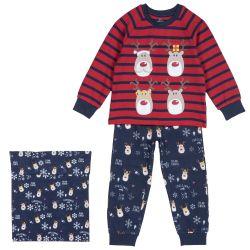 Pijama copii Chicco, rosu, 104