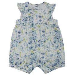 Salopeta bebelusi Chicco, imprimeu floral in diferite nuante, 57107