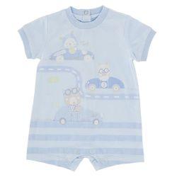 Salopeta bebelusi Chicco, scurta, bleu, 50752