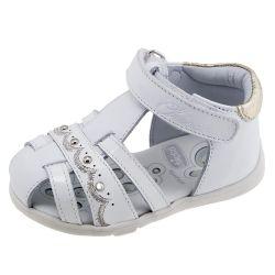 Sandale copii Chicco, alb, 23