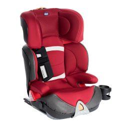 Scaun auto Chicco Oasys 23 Evo FixPlus, RedPassion, 3ani+