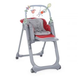 Scaun de masa Chicco Polly Magic Relax, Red, 0luni+