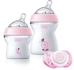 Set nou-nascut Chicco Girl Natural Feeling, 0 luni+