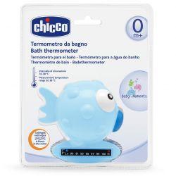 Termometru digital Chicco, forma peste, Blue, 0luni+