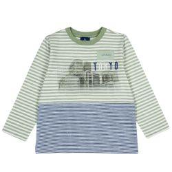 Tricou copii Chicco, multicolor, 104