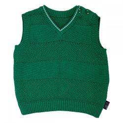 Vesta tricotata copii Chicco, baieti, verde, 69274
