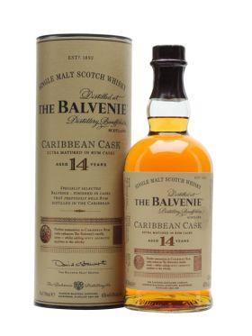 BALVENIE 14Y CARIBBEAN CASK – 70cl