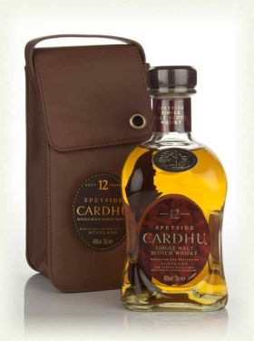 CARDHU LEATHER POUCH 12Y – 70cl