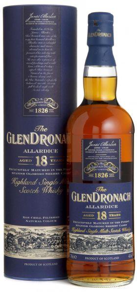 GLENDRONACH 18YO – 70cl