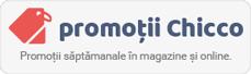 Promotii saptamanale la cele mai cautate produse Chicco. Valabile in magazine si online!