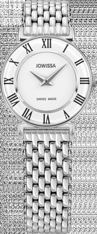 Ceas dama Roma cu carcasa din otel inoxidabil 25mm, curea din otel inoxidabil, mecanism Ronda 762, rezistent la apa 3 ATM