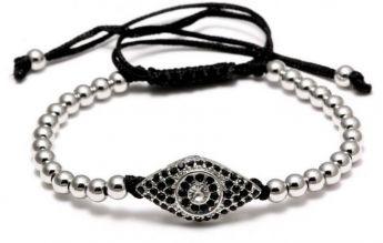 Brooks Eye Micropave CZ Bracelet