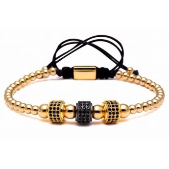 Brooks Zircon Gold Bracelet