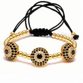 Brooks Gold 3 Zircon Women Amuleth