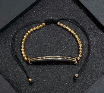 Brooks Gold Riviere Men Bracelet