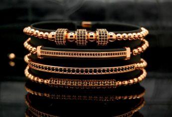 Brooks Luxury Set 4 Rose Gold 14K