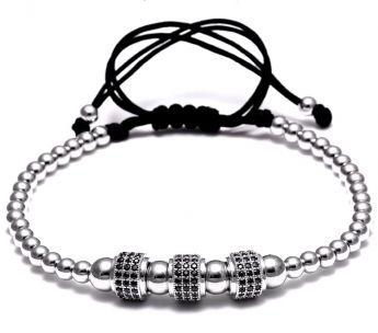 Brooks Zircon Cilinder Bracelet
