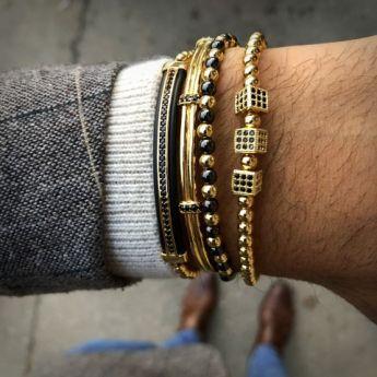 Gentleman Gold Brooks Bracelets
