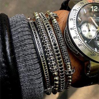 Luxury 4 Masterpiece Silver Bracelets