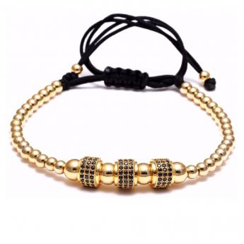 Brooks Zircon Gold 14K Bracelet