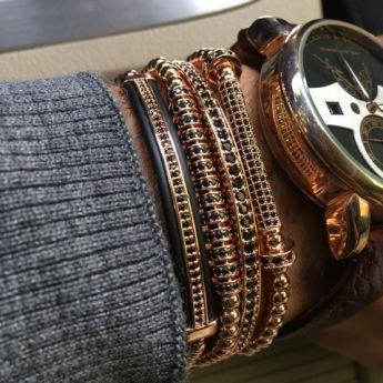The Original Set Rose Gold 14K Brooks Bracelets