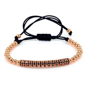 Brooks Rose Gold 14K CZ Women Bracelet