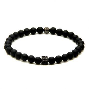 Agate Natural Stone Men Bracelet