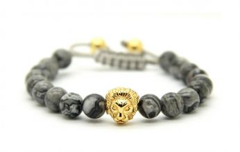 Macrame Stone Men Bracelet